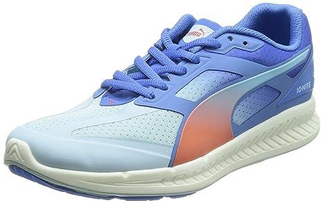 Puma Ignite women Running Shoes Fitness Jogging 188077 01 grey rosa, pointure:eur 41
