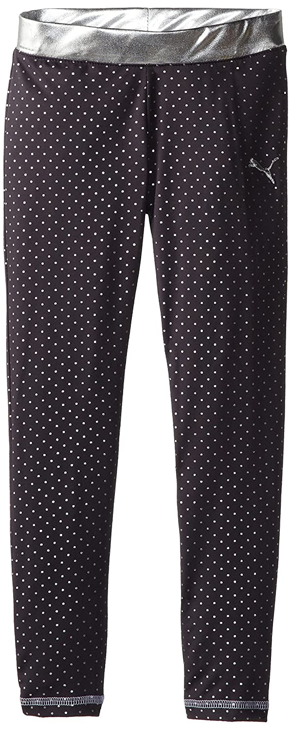PUMA Big Girls' Foil Dot Legging Puma Girls 7-16 PGH43947