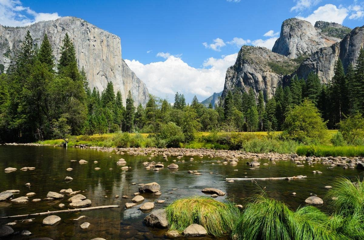 Gifts Delight Laminated 36x24 Poster: Nature - Yosemite in HD s