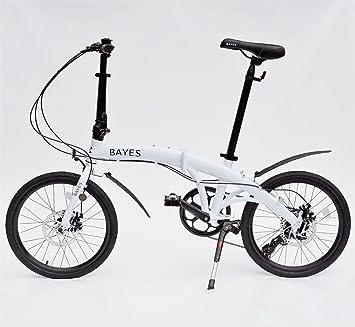 Bayes–Bicicleta plegable de aluminio Shimano, de 20 pulgadas con