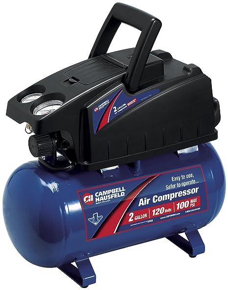 Campbell Hausfeld FP2048 2-GALLON Compresor De Aire Y Kit De Accesorios De 8 Piezas