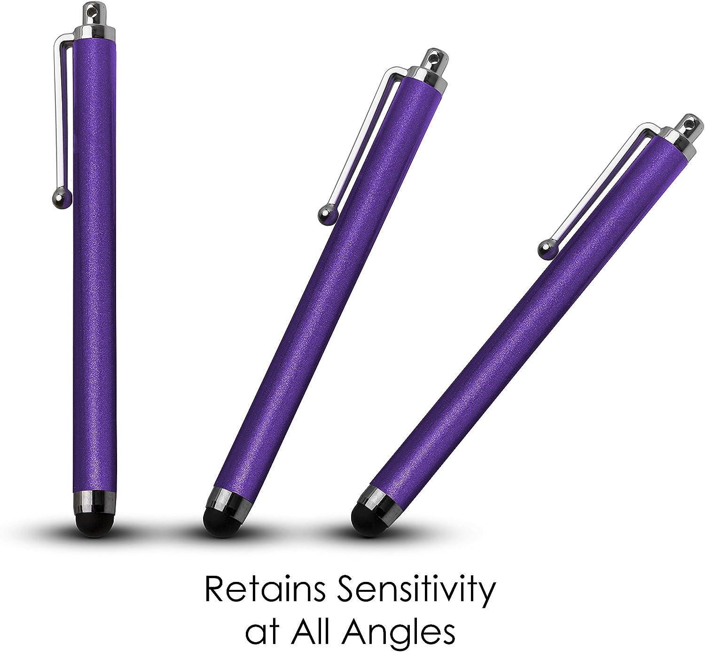 Azul Kit de Prevenci/ón contra Rayas y Antigrasa Forefront Cases Huawei Mediapad T5 10 L/ápiz Capacitivo Universal Stylus Pen L/ápiz iOS Metalizado con Punta de Goma Lapizes