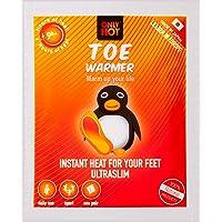 Only Hot 9-Uur Zelfverwarmende Teen Warmer Stickers voor Unisex Adult 5 Paar, Een Maat, Zwart