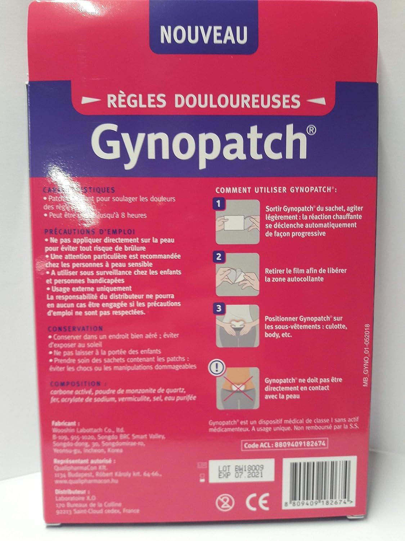 Gynopatch - Reglas dolorosas (caja de 3 partes): Amazon.es ...