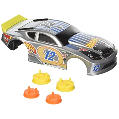 Hot Wheels Ai Speedway Spoiler Car Body & Wheels Custom Kit: Toys & Games