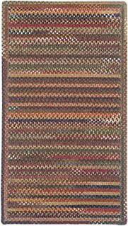 "product image for Capel Rugs Kill Devil Hill Cross Sewn Rectangle Braided Runner, 2 x 9"", Multicolor"