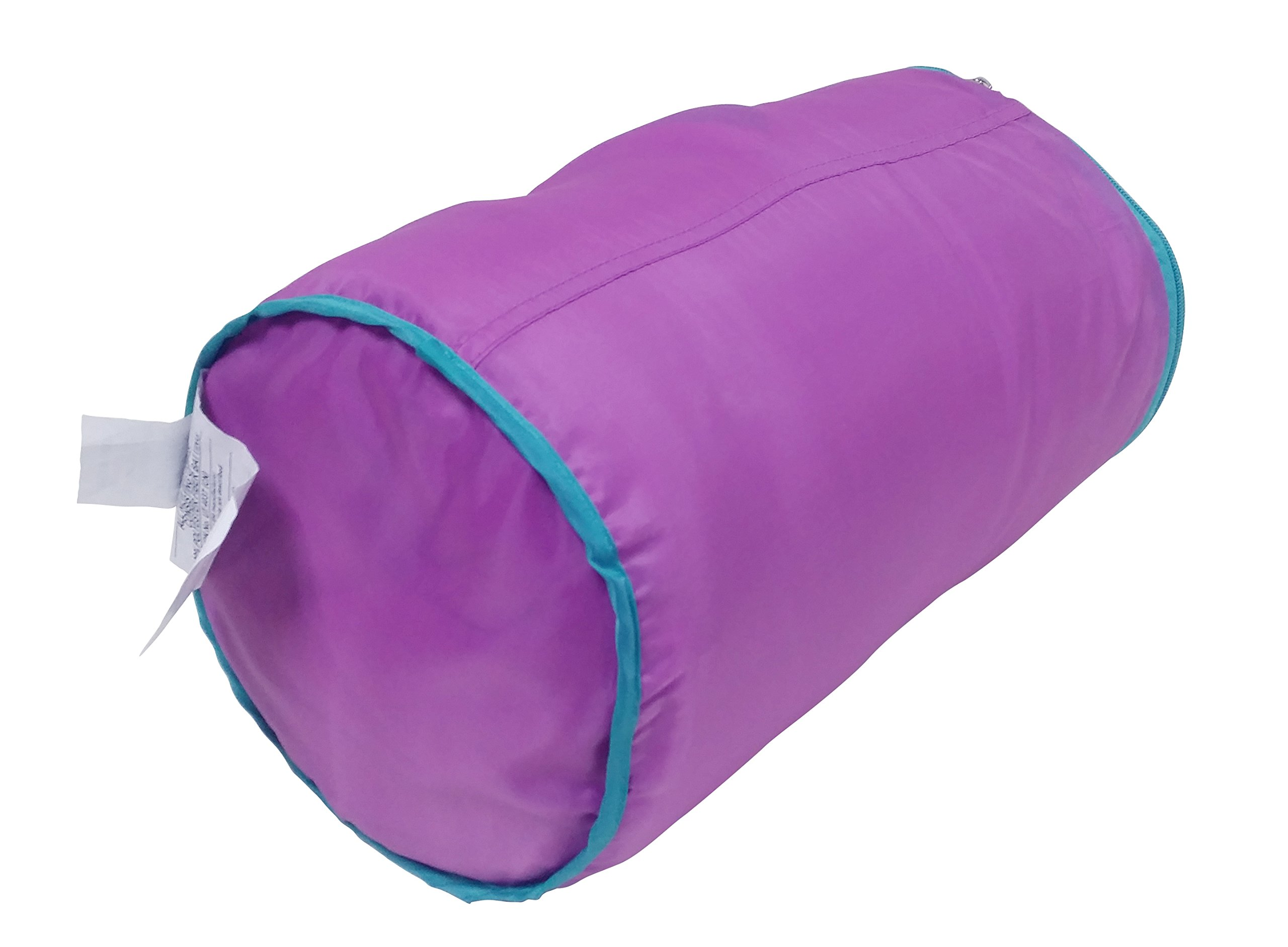 Ozark-Trail Kids Sleeping Bag Camping Indoor Outoor Traveling (Raccoon/Bear) (Purple,Teal) by Ozark-Trail (Image #5)