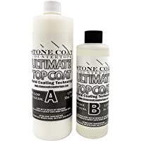 Ultimate Top Coat Epoxy (Stone Coat Countertops) – DIY Epoxy Resin Kit with Extra Scratch Resistance and UV Resistance…