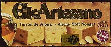 El Artesano Jijona Soft Almond Turron (Turron de Jijona) 7 Oz (200 G