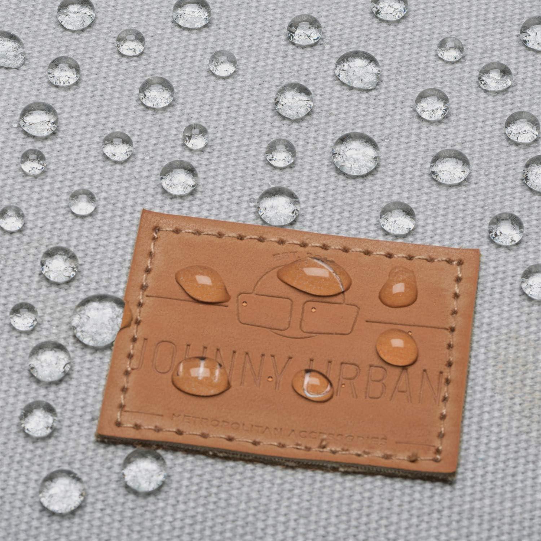 Compartiment Ordinateur /& D/éperlant Sacs Casual de Haute Qualit/é Sac /à Dos Femme /& Homme Anthracite JOHNNY URBAN Sam Backpack Mode Fabriqu/é en Tissu Coton pour lUniversit/é Le Bureau /& Les Loisirs