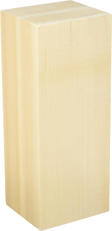1.75 x 1.75 x 10 Walnut Hollow Basswood Carving Block