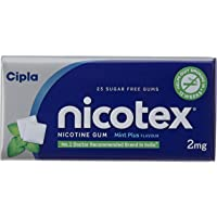 Cipla Nicotex Tin Box - 2 mg (Mint, Pack of 3)
