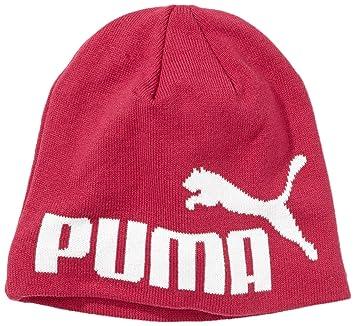 Puma Men s Logo Beanie Hat - Pink d220ca14642