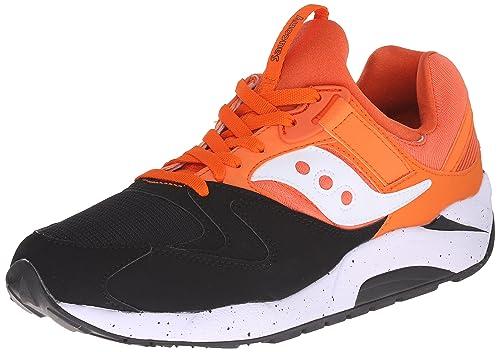 3e172d0f7e0e Saucony Originals Men s Grid 9000 Sneaker Blue Orange  Saucony ...