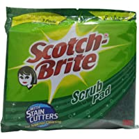 Scotch-Brite Scrub Pad With Stain Cutters, 3 Pieces Pack