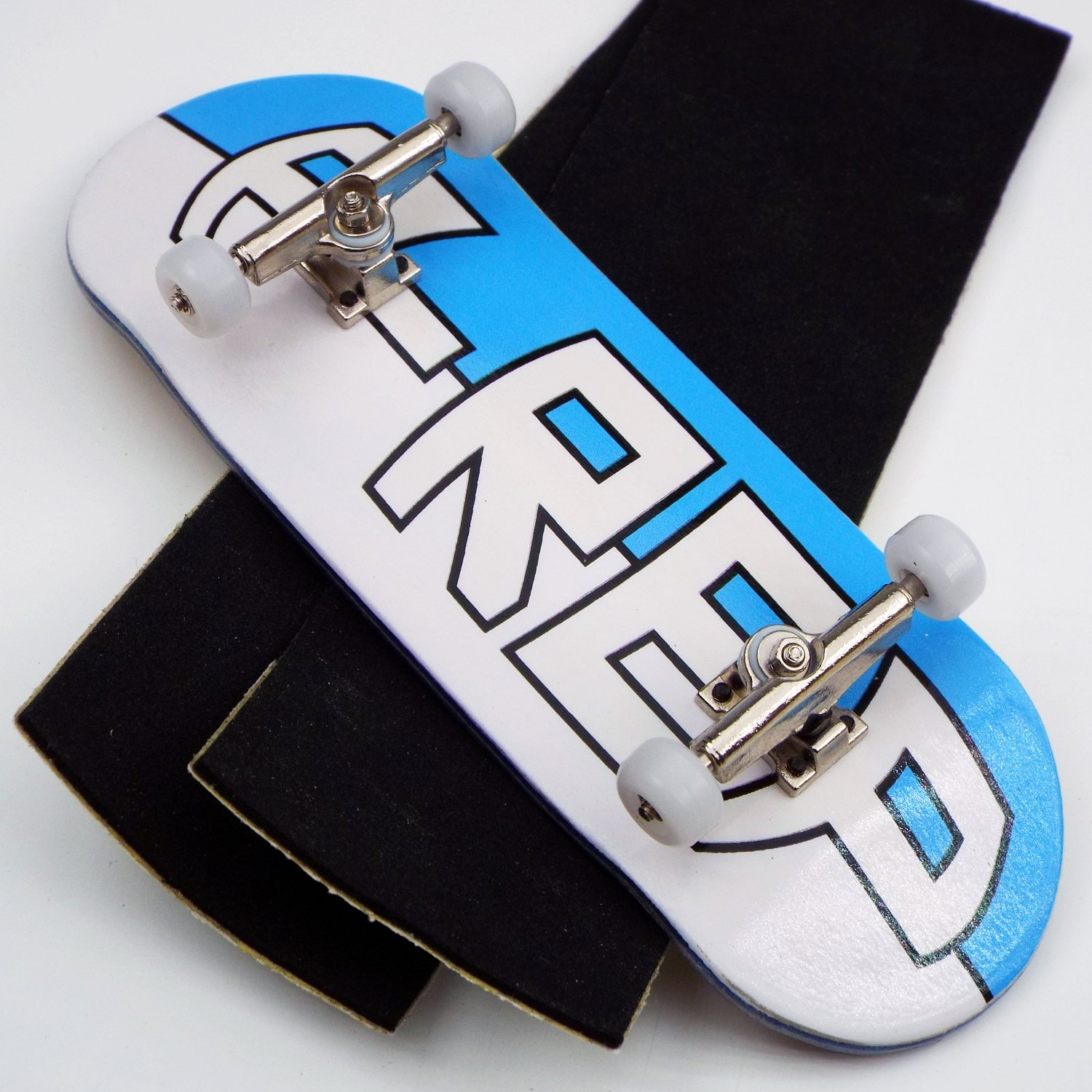 Peoples Republic P-Rep Large Logo 34mm Complete Wooden Fingerboard w CNC Lathed Bearing Wheels … by Peoples Republic (Image #1)