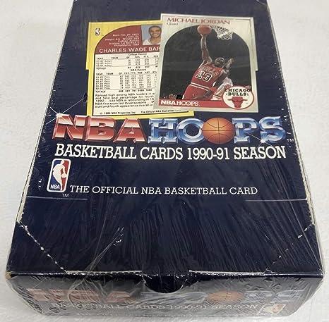 Amazoncom Hoops 1990 91 Nba Series 1 Sealed Box Mark