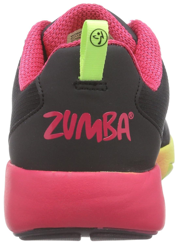 Zumba Footwear Zumba Court Flow, Zapatillas de Gimnasia para Mujer, Negro (Black), 35.5 EU: Amazon.es: Zapatos y complementos