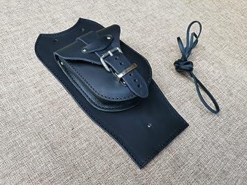 Orletanos Tankpad Kompatibel Mit Harley Davidson Softail Heritage Oder Fat Bob Für Spitzes Dashboard Schwarz Tasche Schwingentasche Hd Auto