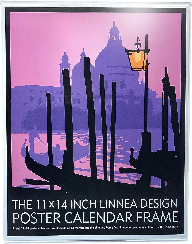 The 11 X14 Inch Linnea Design Poster Calendar Frame