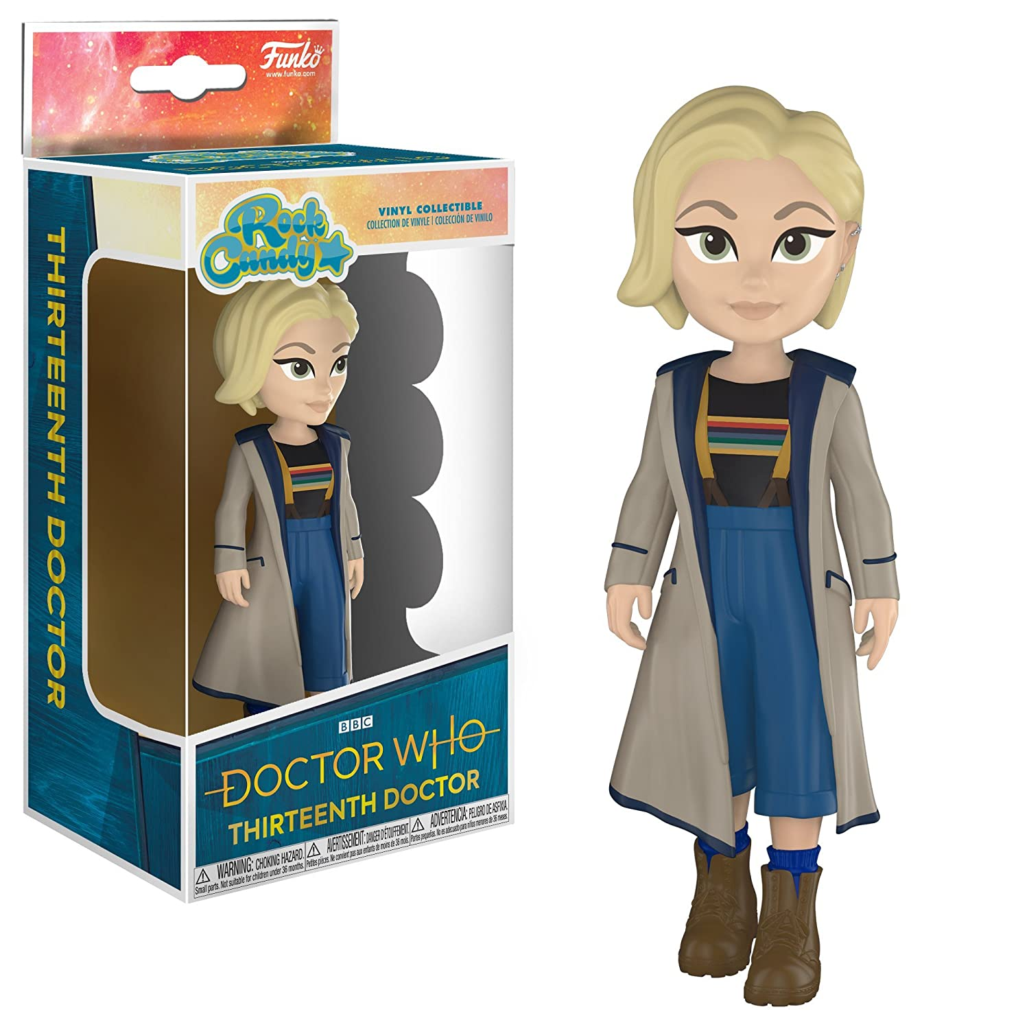 "BBC Doctor Who The Thirteenth Doctor 10/"" Doll Figure NEW 2018 UK SELLER"