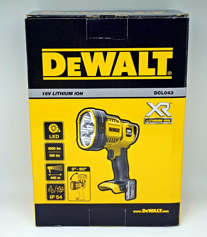 Only Body Dewalt DCL043N DCL043 N 18V XR Cordless LED Flashlight Work Light