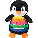 "BUCKLE TOY ""Blizzard"" Penguin - Toddler Early Learning Basic Life Skills Children's Plush Travel Activity"