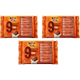 Cadbury Bournvita Crunchy Cookies, Tiffin Pack 250 gm (Pack of 3)