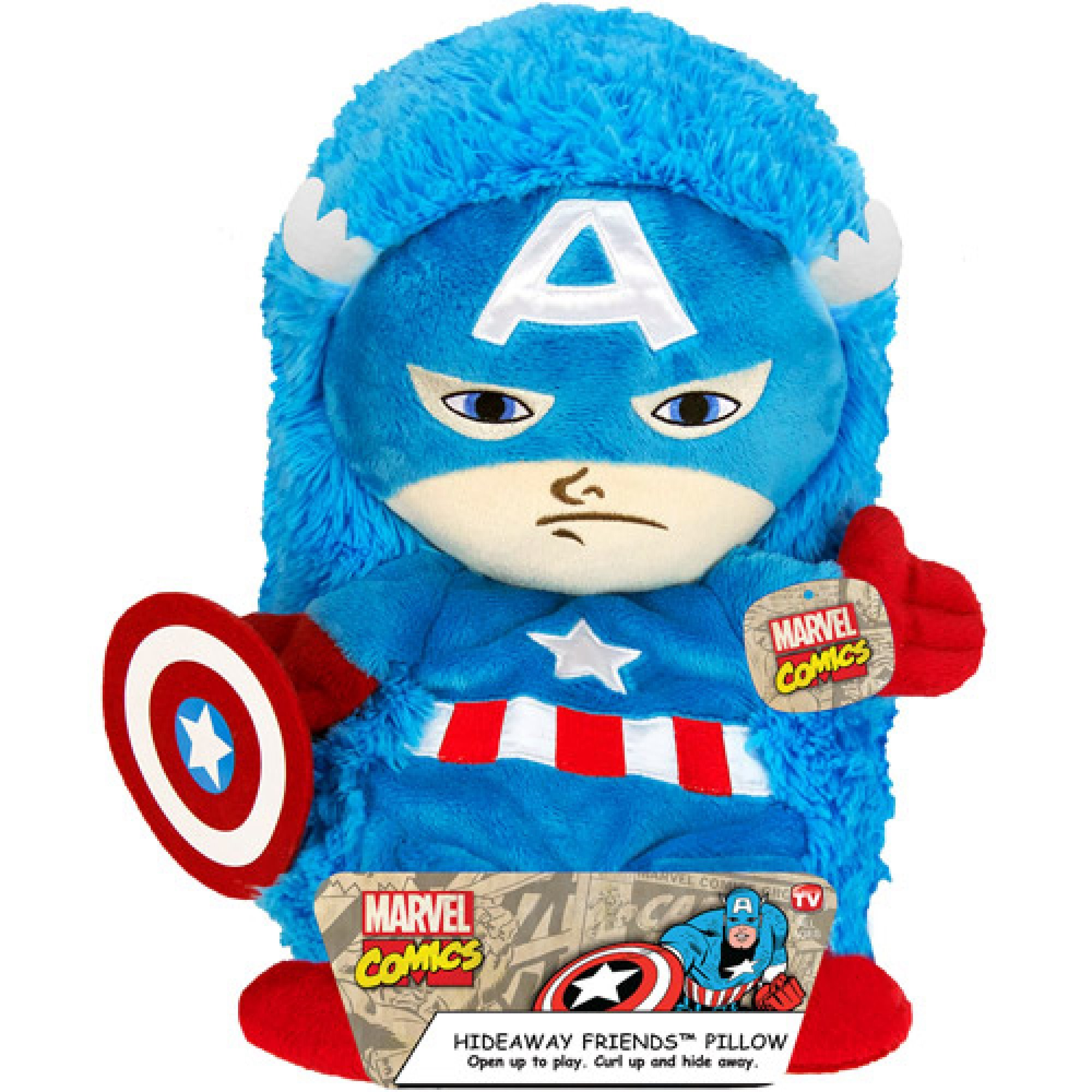 14'' Captain America Hideaway Pet by Generic (Image #1)