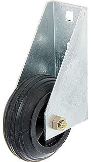 soporta hasta 450 kg, metal galvanizado en caliente, atornillable, 125 mm de di/ámetro GAH-Alberts 416867 Rueda para portadas y puertas de jard/ín pesadas y anchas