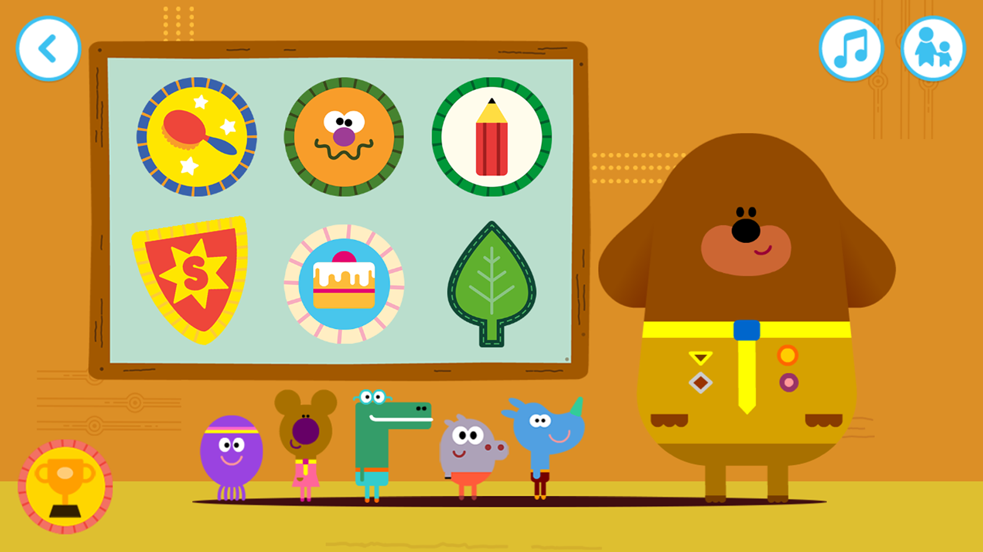 Amazon Com Hey Duggee The Big Badge App Appstore For