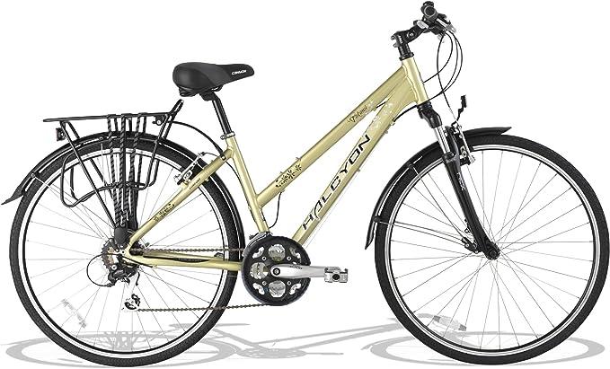 CANYON CTB453 - Bicicleta para Mujer, Cuadro 17 in, Color Rojo ...