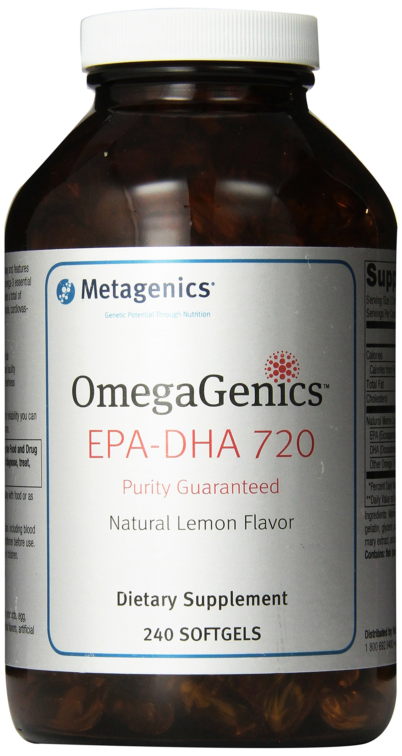 Metagenics - OmegaGenics EPA-DHA 720, 240 Count by Metagenics (Image #1)