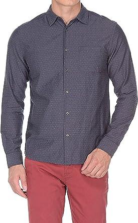 Wrangler Camisa para hombre L/S, 1 pieza, regular Phantom ...