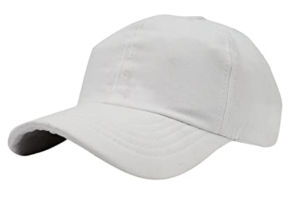 f4b4247d Image Unavailable. Image not available for. Colour: Zacharias Unisex  Baseball Skull Cap White
