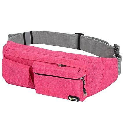 e1bbdbc64d EOTW Fanny Pack Waist Bag Travel Pocket Sling Chest Shoulder Bag Phone  Holder Running Belt with