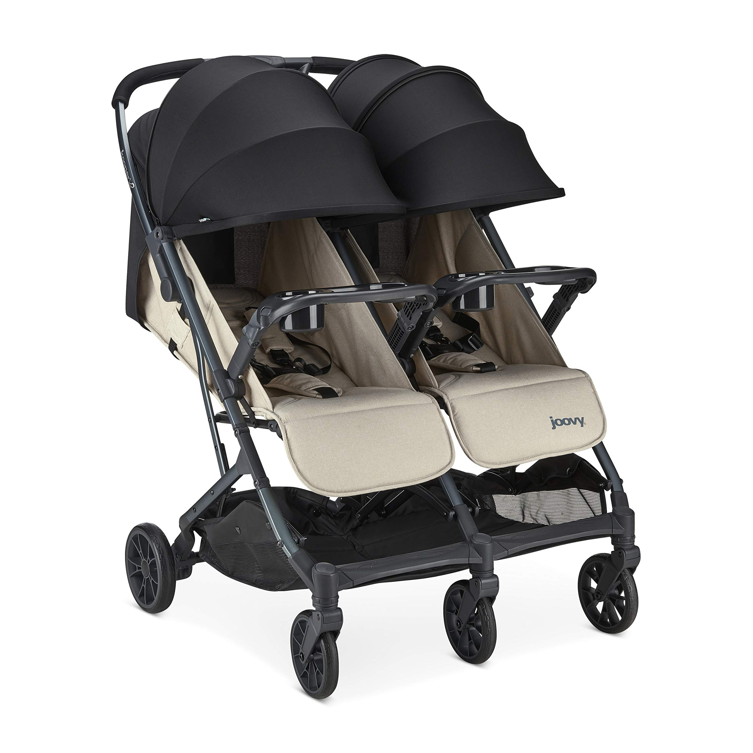 Joovy 8228 Kooper X2 Stroller, Sand