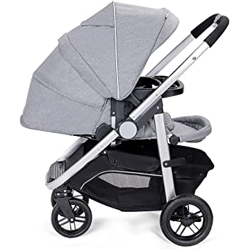 Amazon.com : Roan Rocco Classic Pram Stroller 2-in-1 with