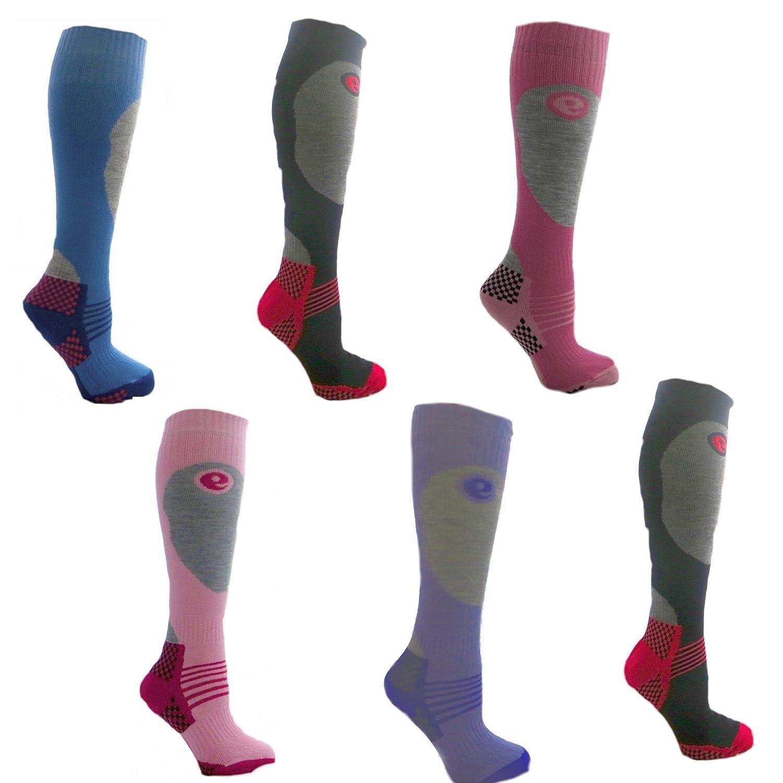6 Paar Damen-Ski-Socken Lange Hose Socken 6-11