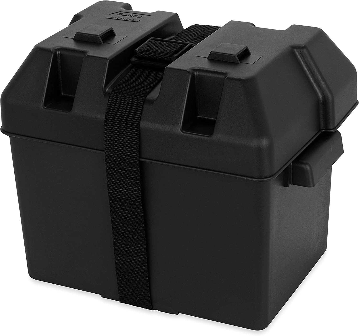 Camco Heavy Duty Battery Box with Straps