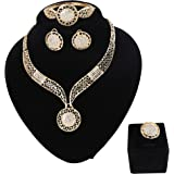 Paxuan Womens Silver Gold Plated Alloy...