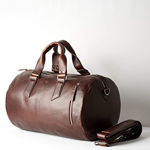 95455bf2eff5b6 Image Unavailable. Image not available for. Color: Capra Leather Duffle Bag  ...
