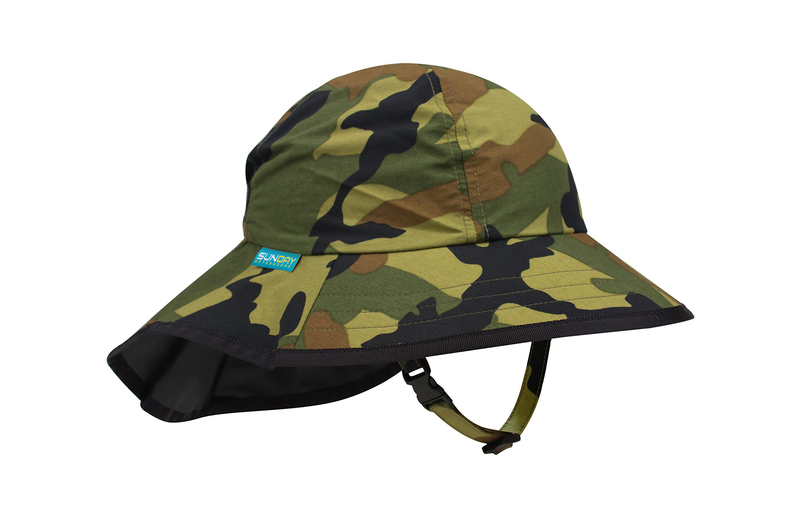 Sunday Afternoons Play Hat, Baby, Green Camo