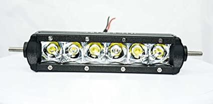 Amazon single row led light bar 6 inch led bar automotive single row led light bar 6 inch led bar aloadofball Gallery