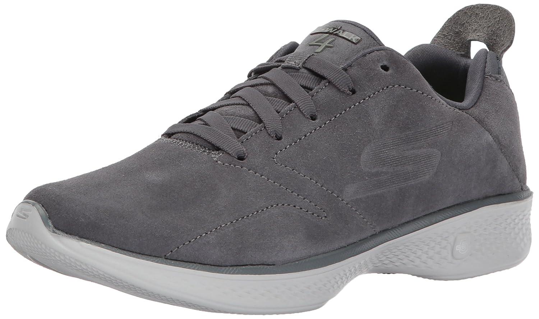 Skechers Damen Go Walk 4 Sneaker, BBK  42 EU|Grau (Anthrazit)