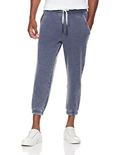 7bbe9b305ad9 Rebel Canyon Young Men s Super Soft Fleece Cropped Jogger Sweatpant with  Vintage Wash