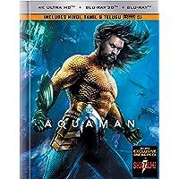 Aquaman (Digibook with Lenticular) (4K UHD + Blu-ray 3D + Blu-ray)