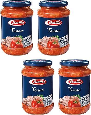 """Barilla: """"Tonno"""" Tuna Pasta Sauce 14.10 Ounce (400g) Bottles ("""