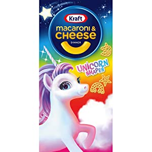 Kraft Unicorn Shapes Macaroni and Cheese Meal (5.5 oz Boxes, Pack of 12)