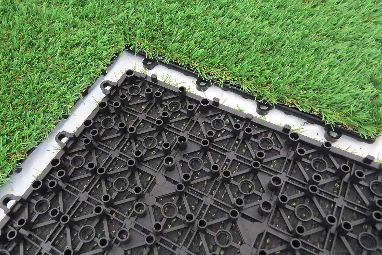 Piastrella m² clicca piastrelle ad incastro ottica prato